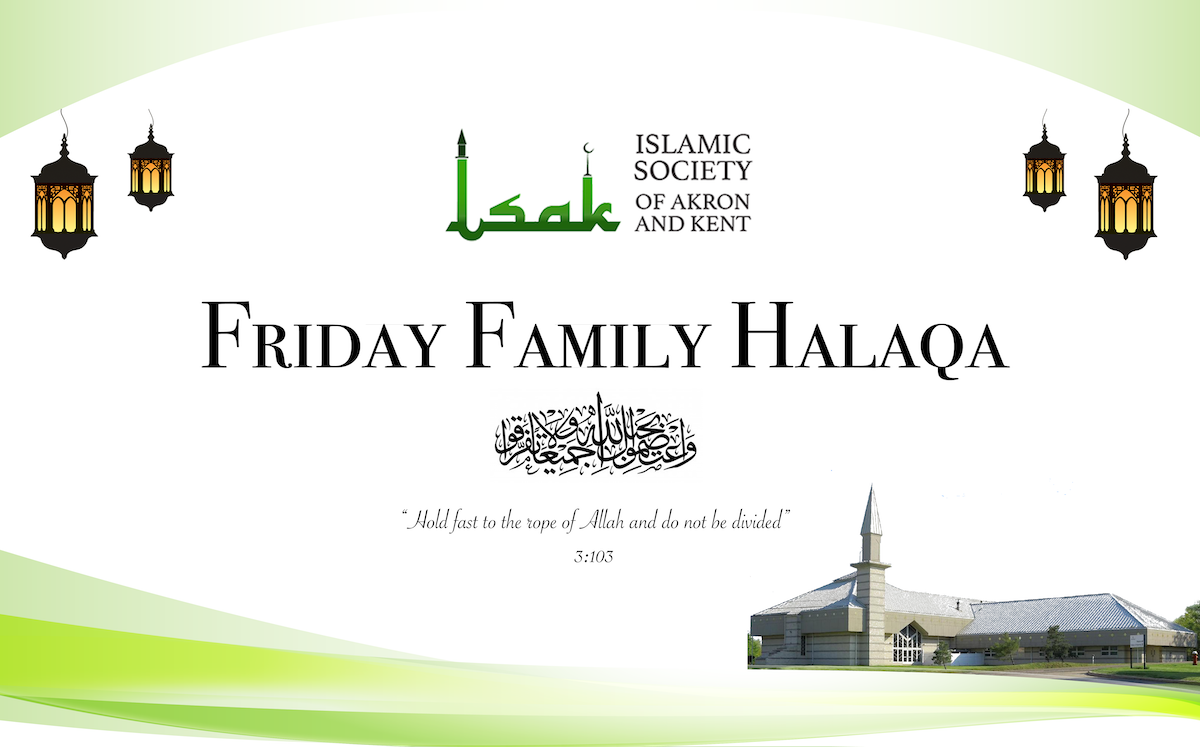 Friday Family Halaqa